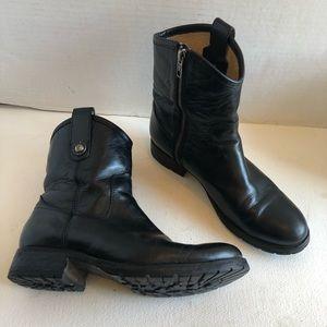 Frye Melissa short button booties boots